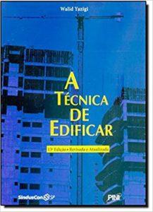 A TÉCNICA DE EDIFICAR, YAZIGI, PINI