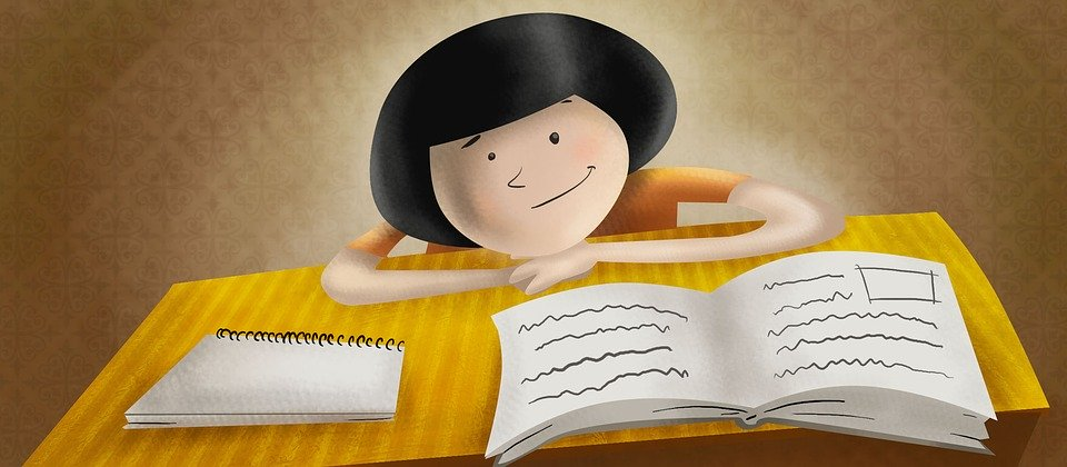 Child, Study, Boy, Proof, Learning, Students, Smiling