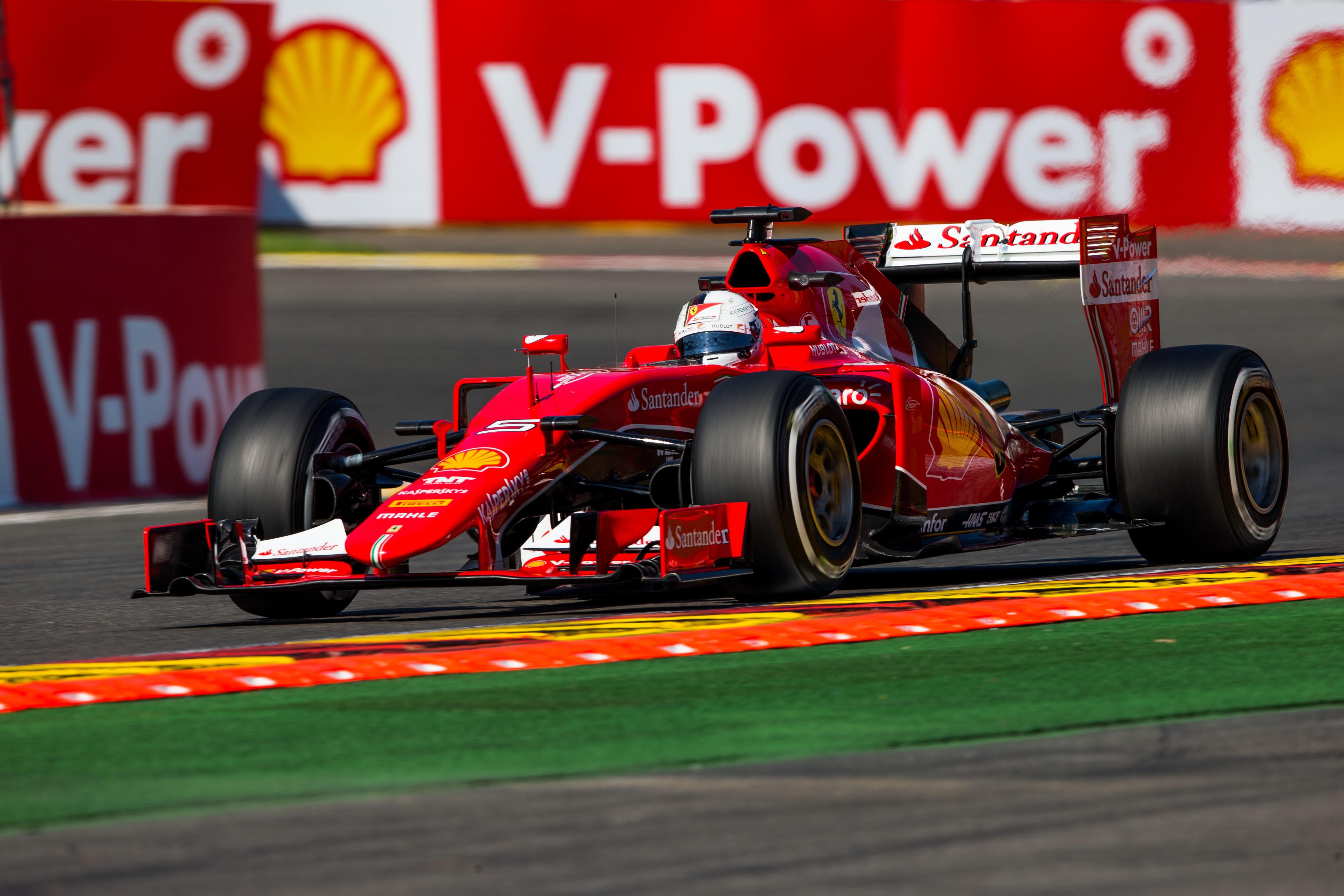 Parceria Shell e Ferrari
