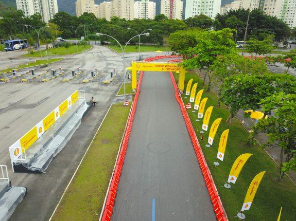 As 45 equipes que participam da Shell Eco-marathon