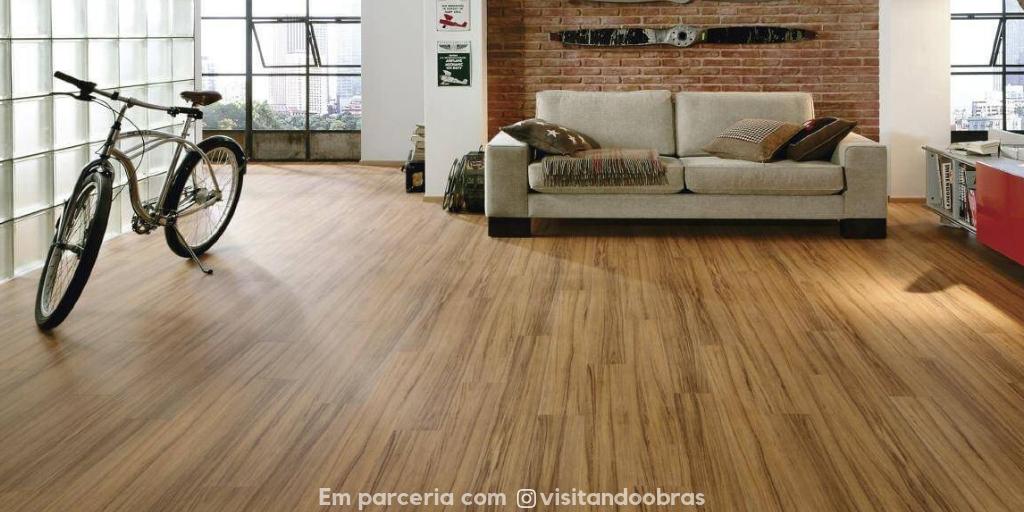 piso vinílico x Piso laminado
