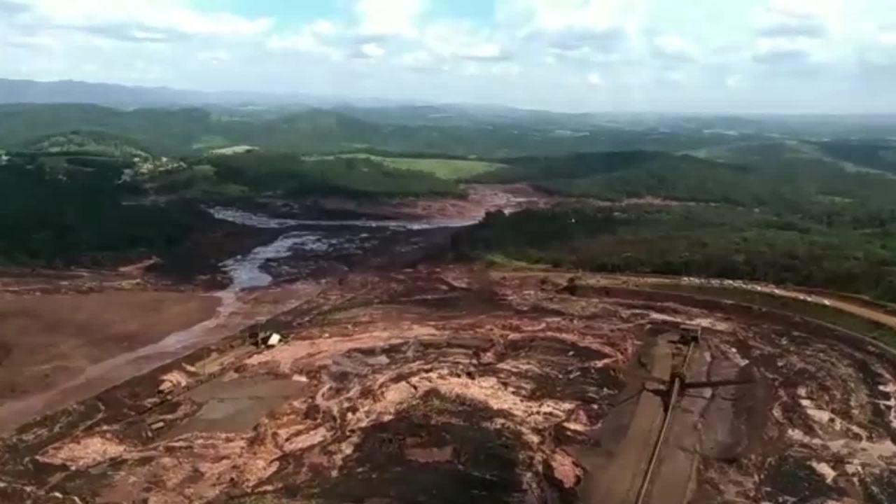 Rompimento da barragem em Brumadinho