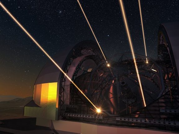 Telescópio com espelho de 39 metros de diâmetro está em construção no Chile