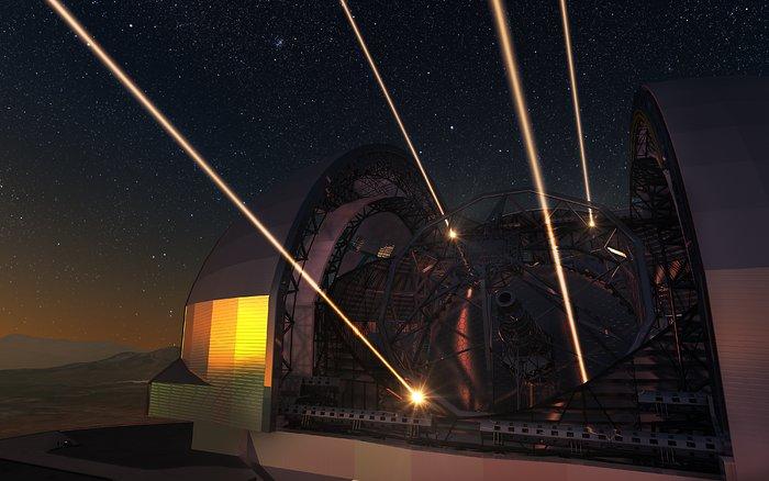 Tem Na Web - Telescópio com espelho de 39 metros de diâmetro está em construção no Chile