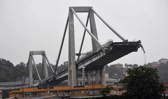 queda da ponte Morandi